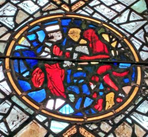 Stained glass window, York