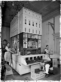 Queen Mary's Dolls' House - photo by Arthur Gill