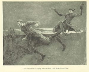 Original illustration from The Story of the Moor Road